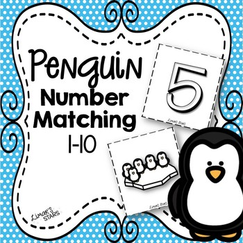 Penguin Number Matching 1-10