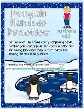 Penguin Number Practice 1-20
