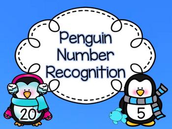 Penguin Number Recognition Game