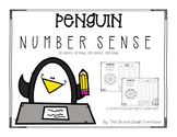 Penguin Number Sense (10 more, 10 less, 100 more, 100 less)