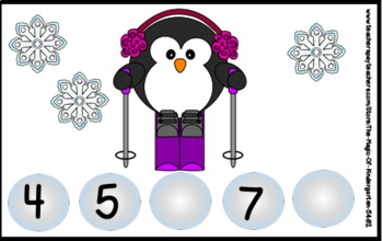 Penguin Number Sequence Cards (1-30)