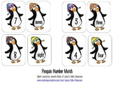 Penguin Number Word Matching