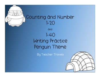 Penguin Number Writing to 40