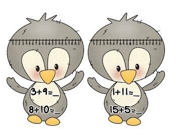 Penguin Number lines