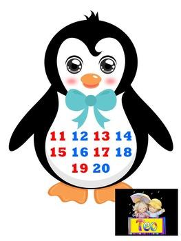 Penguin - Numbers 1- 20