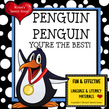 Penguin Olympic style book
