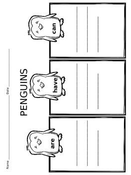 Penguin Pack Graphic Organizers