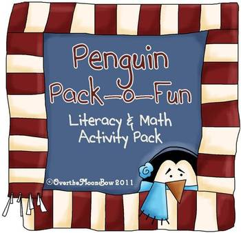 Penguin Pack-o-Fun Literacy & Math Activity Pack