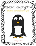 Penguin Pairs:  Closed Syllables with N & R File Folder Game {Spanish}