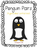 Penguin Pairs:  Contractions File Folder Game {Freebie!}