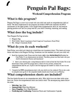 Penguin Pal Program: Comprehension Skills