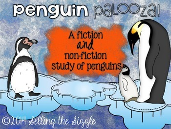 Penguin Palooza- a common core fiction and non-fiction unit about penguins!