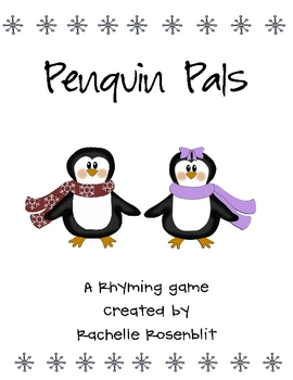 Penguin Pals - A Rhyming Game