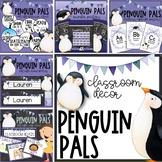 Penguin Pals EDITABLE Classroom Decor BUNDLE