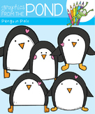 Penguin Pals Clipart Set