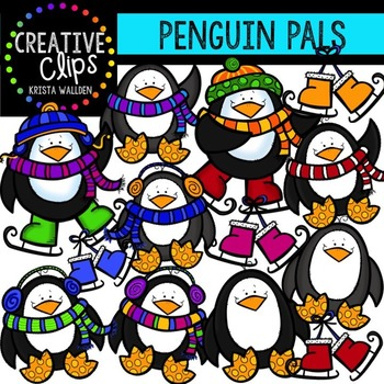 Penguin Clipart (Graphic) by Melissa Held Designs · Creative Fabrica