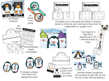 Penguin Pals Topic Pack