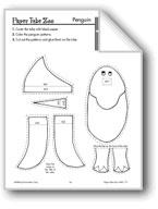 Penguin Paper Tube Animal