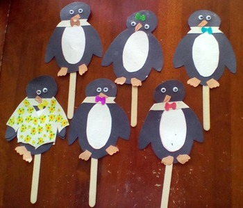 Penguin Parade Craft