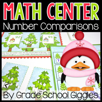 Penguin Parade: A Comparing Numbers Center