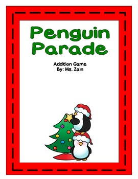 Penguin Parade Addition Game