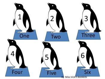 Penguin Parade  Addition Dice Game