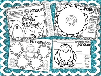 Penguin Parade ~ Penguin Unit for Young Learners (Literacy, Math, Science, INB)