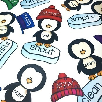 Penguin Parts of Speech Center