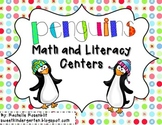 Penguin Party! Centers for Math and LIteracy