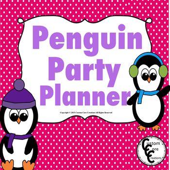 Penguin Party Planner