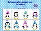 Penguin Party Winter Theme Language Games and Activities