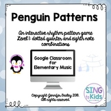 Penguin Patterns Level 1: An Interactive Music Game