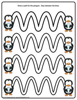 Penguin Pencil Challenges