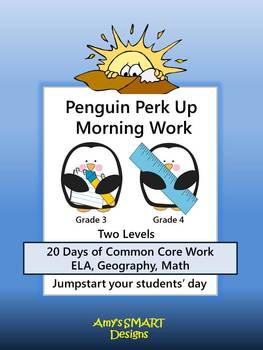 Penguin Perk Up Morning Work