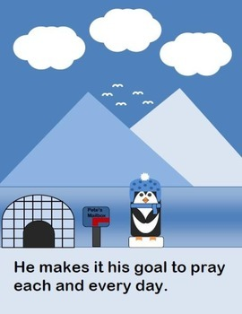 Penguin Pete and Prayer (A Read and Let's Talk About It Book) [Christian Book]