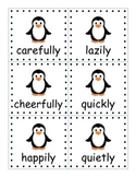 Penguin Pete's Adverb Sort