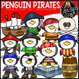 Penguin Pirates Clip Art Set {Educlips Clipart}