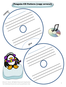 Penguin Pizzazz Research CD Book!