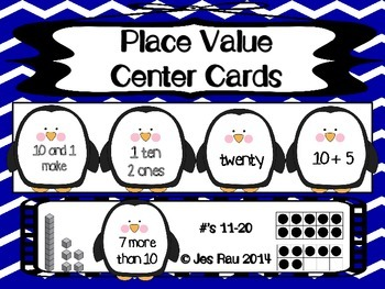 Penguin Place Value (11-20)