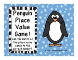 Penguin Place Value Game CCSS NBT, First grade!