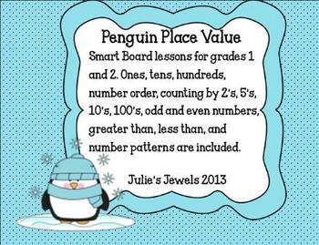 Penguin Place Value and Number Sense Common Core Aligned
