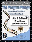 Winter Math Skills & Learning Center (Add & Subtract Unlik