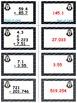 Penguin Plunge Game Cards (Add & Subtract Decimals) Sets 4-5-6