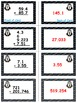 Penguin Plunge Game Cards (Add & Subtract Decimals) Sets 4-5-6