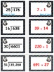 Penguin Plunge Game Cards (Division with 2-Digit Divisors)
