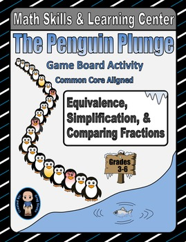 Winter Math Skills & Learning Center (Simplify & Compare Fractions)