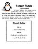 Penguin Plurals -s and -es