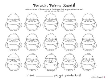 Penguin Points! Winter Edition