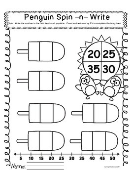 Penguin Pool Party 4 ELA and 4 Math Activities For Kindergarten
