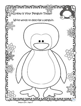 Penguin Posters, Literacy, Math & Science! Research Book